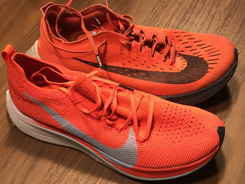 Nike Zoom Vaporfly 4% - differenze