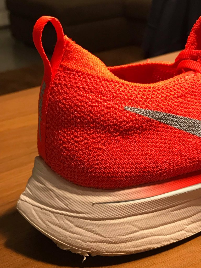 Nike zoom Vaporfly 4% -retro suola